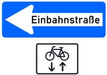 220 Einbahnstraße, Radfahrer Frei