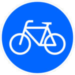 237 Weg Für Radfahrer