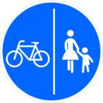 241 Getrennter Rad Und Fußweg