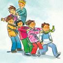 Bewegungsspiel Bewegung Motorik Velofit Grundschule Verkehrserziehung Kinderschlange