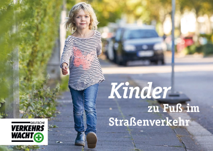Broschüre Kinder Zu Fuß Im Straßenverkehr Dvw Bmvi Cover