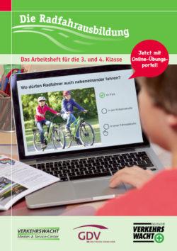 Die Radfahrausbildung Klasse 3 4 Verkehrserziehung Titelseite