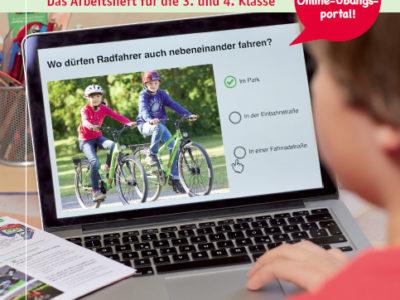 Die Radfahrausbildung – Arbeitsheft & Portal für Klasse 3/4