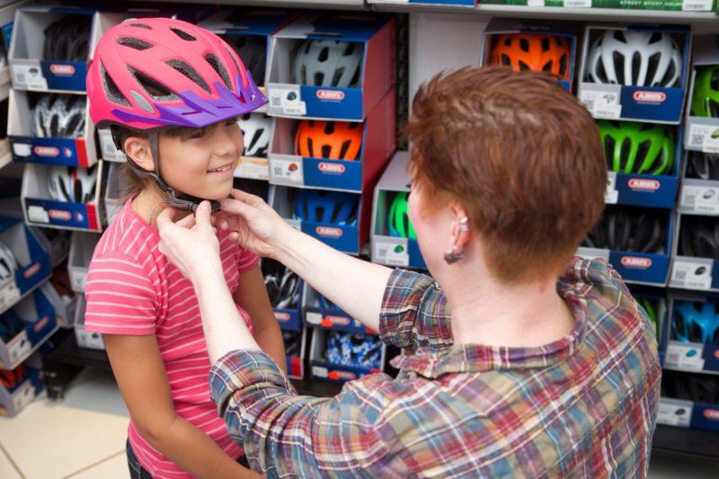 Fahrradhelm Anpassen Verkehrserziehung Kinder Fachhandel Kopfring