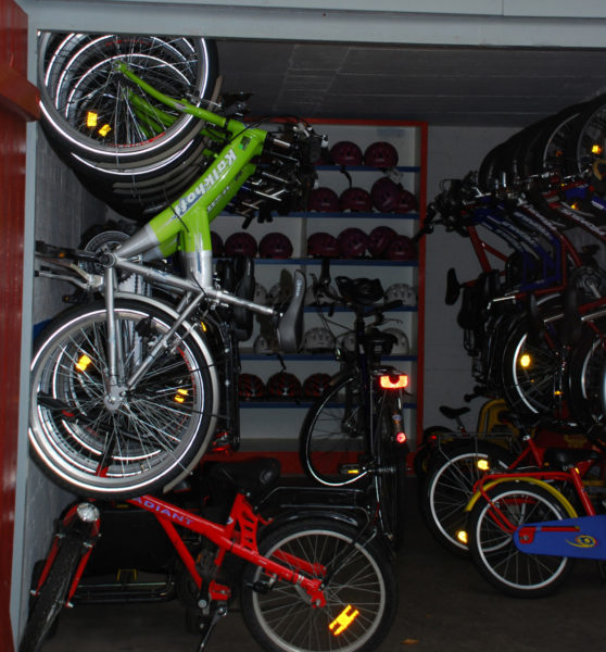 Fahrradwerkstatt Projekt Modul 12 Rad Und Helmverleih Garage Lagerraum Sekundarstufe Verkehrserziehung Mobilitaetsbildung