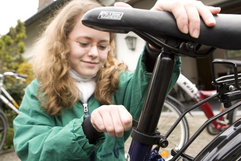 Fahrradwerkstatt Projekt Modul 15 Werkstattschein Stationen Sekundarstufe Verkehrserziehung Mobilitaetsbildung