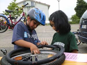 Fahrradwerkstatt Projekt Modul 16 Workshops Sekundarstufe Verkehrserziehung Mobilitaetsbildung