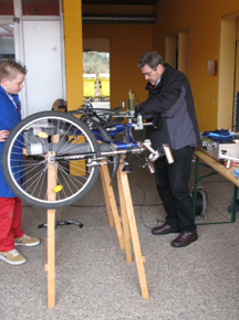 Fahrradwerkstatt Projekt Modul 3 Fahrradboerse Codierung Sekundarstufe Verkehrserziehung Mobilitaetsbildung