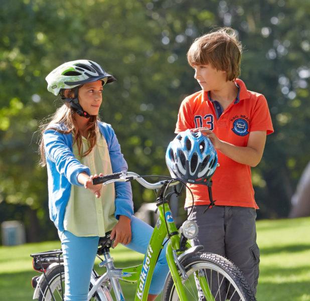 Fakten Fahrradhelm Verkehrserziehung Helm Grundschule Fahrradhelm Macht Schule