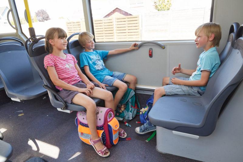 Gefahren Meistern Busfahren Bus Bahn Verkehrssicherheit Schulweg Verkehrserziehung Klasse 2