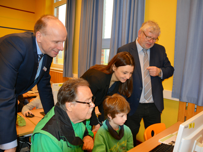 Gefahren Meistern Oberhausen Auftaktveranstaltung Online Grundschule Verkehrssicherheit Verkehrswacht