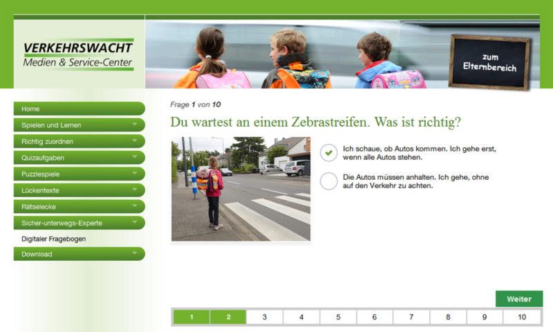Gefahren Meistern Testbogen Sicher Unterwegs Schulweg Zu Fuß Klasse 2 Verkehrserziehung