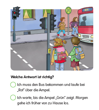 """""""Bus fahren"""" im Unterricht"""
