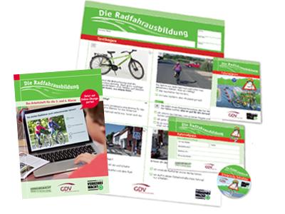 Medien zur Radfahrausbildung