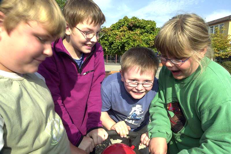 Grundschule Verkehrserziehung Inklusione Gesitige Behinderung