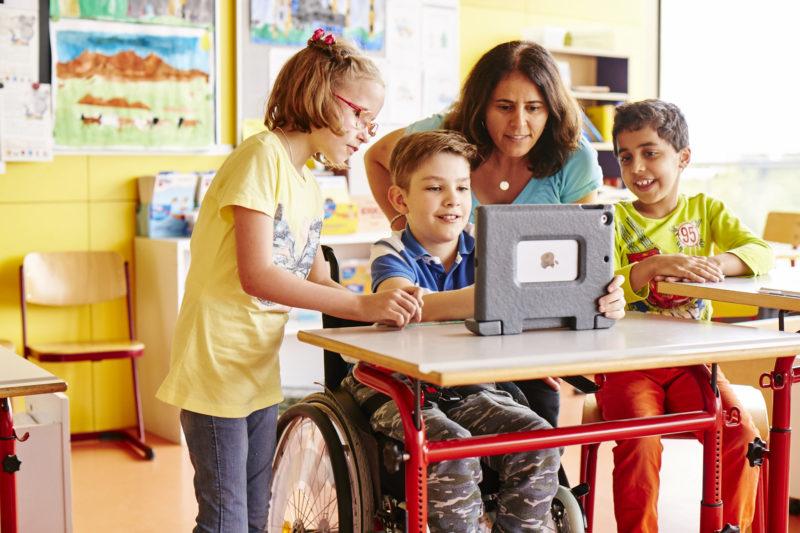 Inklusion Im Klassenzimmer Verkehrserziehung Aktion Mensch Grundschule