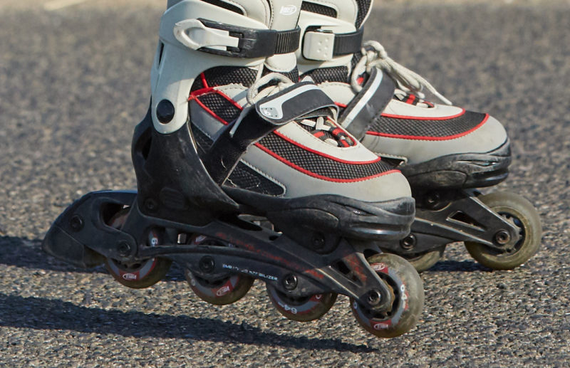 Inline Skaten Ausruestung Schutzkleidung Boots Brakes Sekundarstufe Verkehrserziehung Mobilitaetsbildung