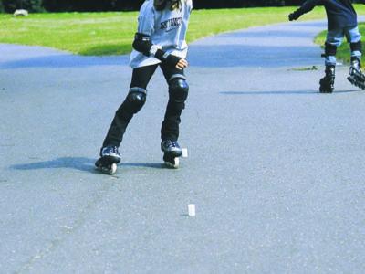 Skaten in der Schule
