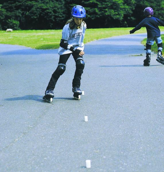 Inline Skaten Fahrpraxis Uebungenl Sekundarstufe Verkehrserziehung Mobilitaetsbildung