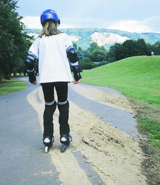 Inline Skaten Gefahrenquellen Sand Boden Sekundarstufe Verkehrserziehung Mobilitaetsbildung