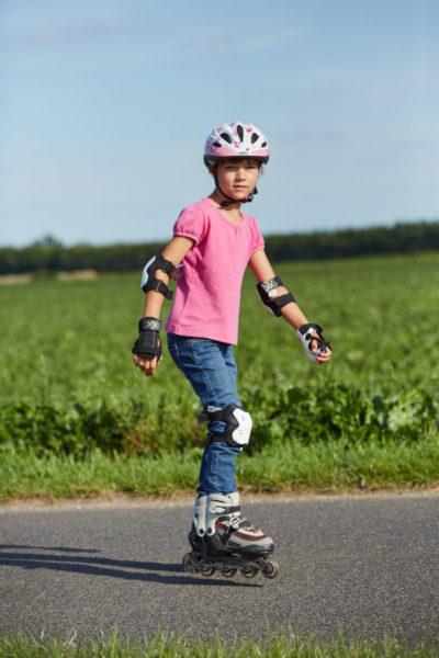 Inline Skaten Jugendliche Skates Fussgaenger Sekundarstufe Verkehrserziehung Mobilitaetsbildung