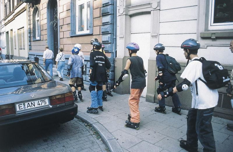 Inline Skaten Projekt Ganztag Baustein 10 Fahren In Gruppen Sekundarstufe Verkehrserziehung Mobilitaetsbildung