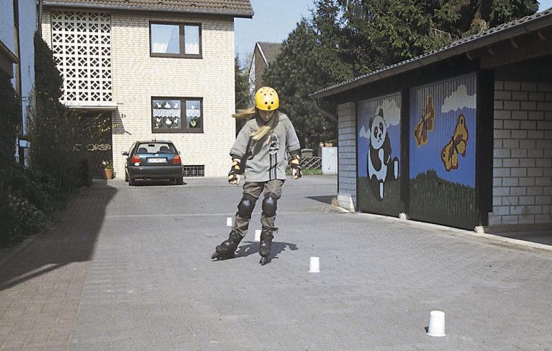 Inline Skaten Projekt Ganztag Baustein 14 Uebungsplaetze Uebungsstrecken Sekundarstufe Verkehrserziehung Mobilitaetsbildung
