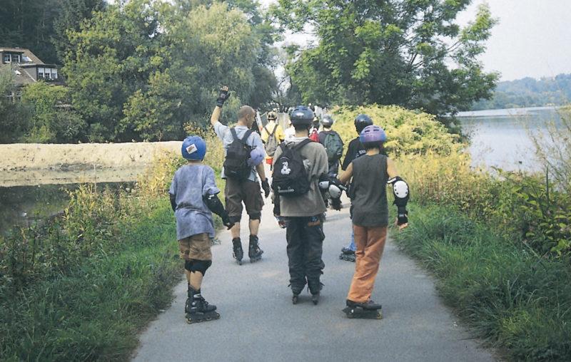 Inline Skaten Projekt Ganztag Baustein 16 Vorbereitung Skate Tour Sekundarstufe Verkehrserziehung Mobilitaetsbildung