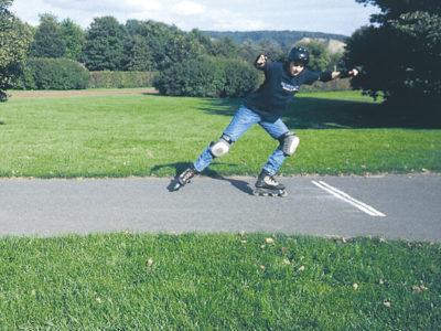 Baustein 2: Wer skaten will, muss bremsen können! – Theorie und Praxis