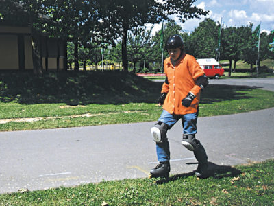 Baustein 4: Wenn der Bremsweg nicht mehr reicht! – Ausweichen und Kurvenfahren
