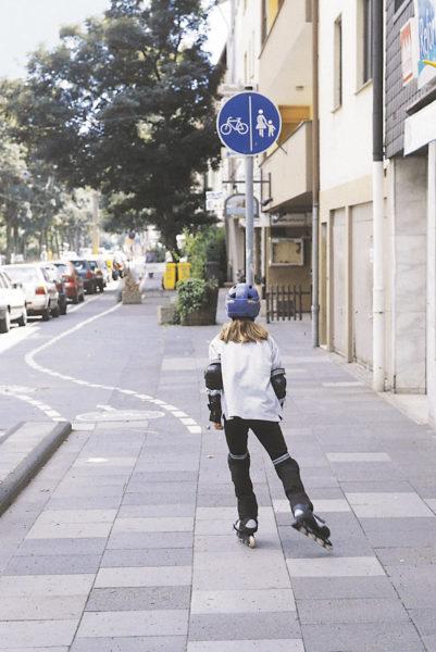 Inline Skaten Projekt Ganztag Baustein 9 Stadtteilerkundung Sekundarstufe Verkehrserziehung Mobilitaetsbildung