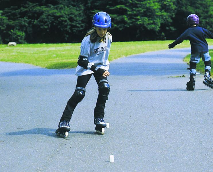 Inline Skaten Projekt Ganztag Skatekurs Praxis Sekundarstufe Verkehrserziehung Mobilitaetsbildung