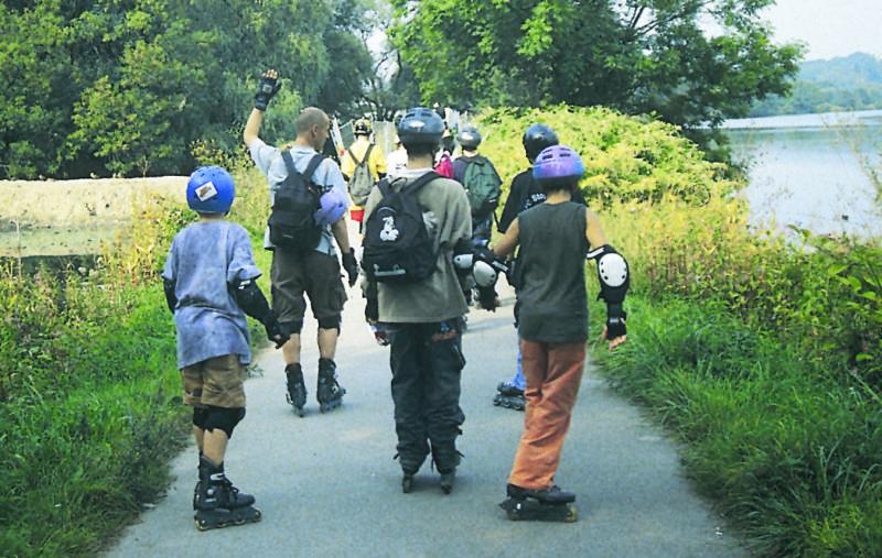 Inline Skaten Regeln Gruppen Sekundarstufe Verkehrserziehung Mobilitaetsbildung