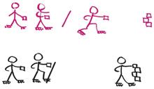Inline Skaten Spiel Turmbau Zu Babel Sekundarstufe Verkehrserziehung Mobilitaetsbildung