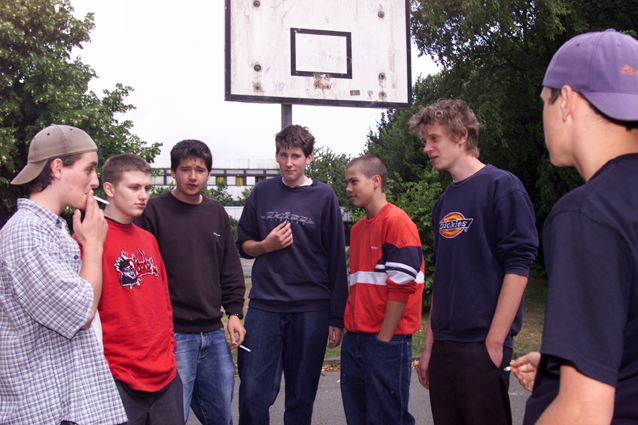 Jugendliche Verkehrserziehung Mobilitätsbildung Peergroup Mobilität Straßenverkehr