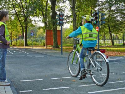Die Radfahrausbildung in Jugendverkehrsschulen