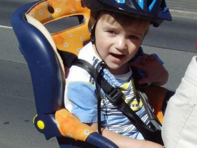 Kindersitz Fahrrad Kindergarten Verkehrserziehung Sicherheit