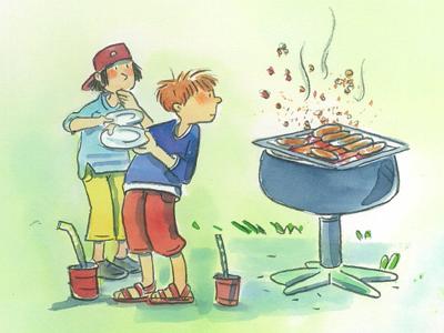 Mehr Kindersicherheit Grillen Kindergarten Elterntipps