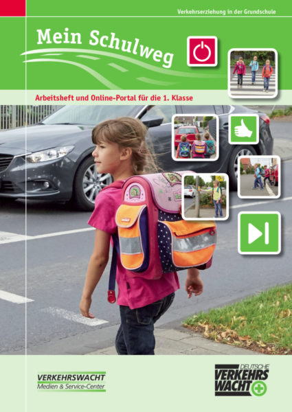 Mein Schulweg Klasse 1 Verkehrserziehung Mobilitaetsbildung Titelseite