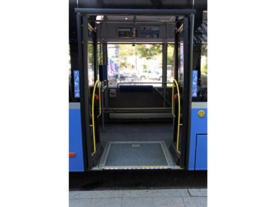 Mobil Teilhaben Bus Fahren Lernen Bus Rampe