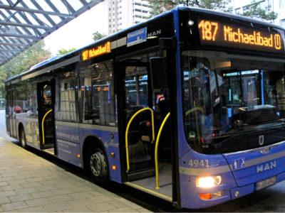 Mobil Teilhaben Bus Fahren Lernen Bus Aussen