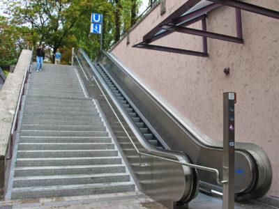 Mobil Teilhaben Rollstreppe Von Der Seite