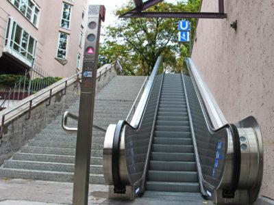 Mobil Teilhaben Rolltreppe Von Vorne