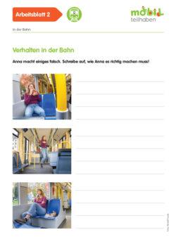 Mobil Teilhaben Verkehrserziehung Geistige Behinderung Bahn Fahren Lernen Ab Verhalten