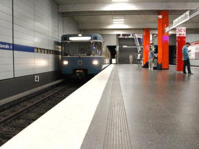 Mobil Teilhaben Verkehrserziehung Geistige Behinderung Bahn Fahren Lernen U Bahn