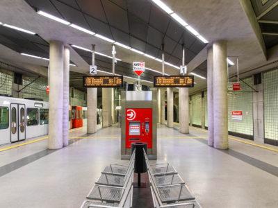 Mobil Teilhaben Verkehrserziehung Geistige Behinderung Bahn Fahren Lernen U Bahn Station Foto Rendel Freude