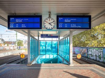 Mobil Teilhaben Verkehrserziehung Geistige Behinderung Bahn Fahren Lernen Logo Bahnsteig Ausgang Foto Rendel Freude