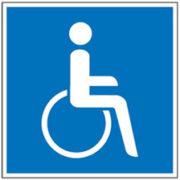 Mobil Teilhaben Verkehrserziehung Geistige Behinderung Bus Fahren Lernen Ein Und Aussteigen Symbol Rollstuhl