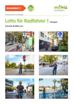 Mobil Teilhaben Verkehrserziehung Geistige Behinderung Fahrrad Fahren Lernen Lotto Fuer Radfahrer