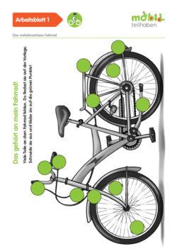 Mobil Teilhaben Verkehrserziehung Geistige Behinderung Fahrrad Fahren Lernen Verkehrssicheres Fahrrad